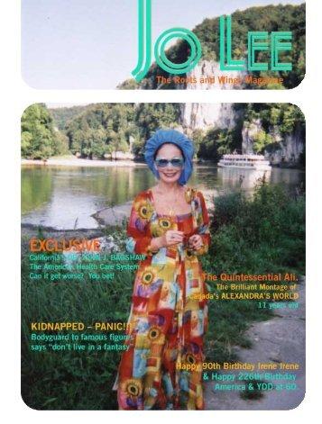 JULY 02 - JO LEE Magazine