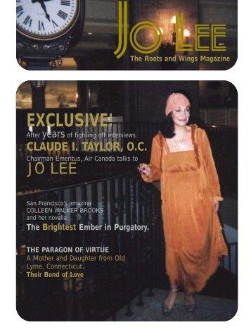 EXCLUSIVE! - JO LEE Magazine
