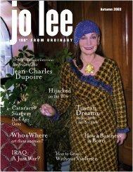 Jean-Charles Dupoire - JO LEE Magazine