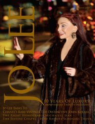 10 Years Of Luxury - JO LEE Magazine