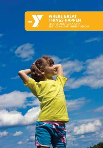 Annual Report - Greater Joliet Area YMCA
