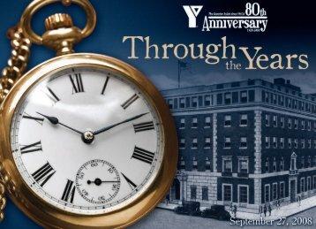 YMCA 80th Anniversary History Book - Greater Joliet Area YMCA