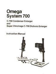 Omega C700 Enlarger