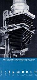 Beseler CB-7 Enlarger Brochure