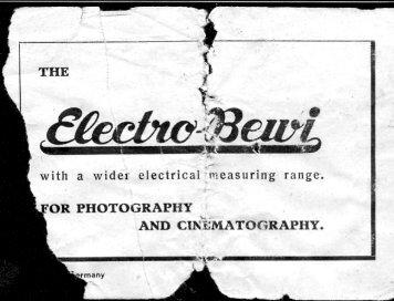 Bertram Electro Bewi Standard
