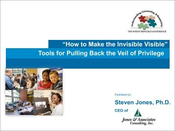 How to Make the Invisible Visible - Jones & Associates Consulting, Inc.