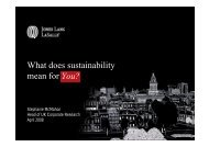 Sustainability and What it Means for Property Stakeholders