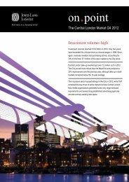 Central London Market Report Q4 2012 - Jones Lang LaSalle