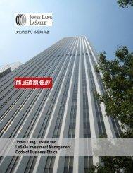 我们的核心价值 - Jones Lang LaSalle