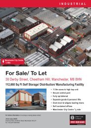 For Sale/ To Let - Jones Lang LaSalle