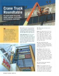 President Participates in Crane Truck Roundtable ... - Jones Sign