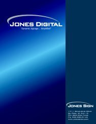 Jones Digital brochure.cdr - Jones Sign