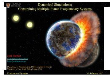 Exoplanet Dynamics.pdf - Dr. Jonti Horner