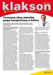 Klakson nr 5 - Veolia Transport