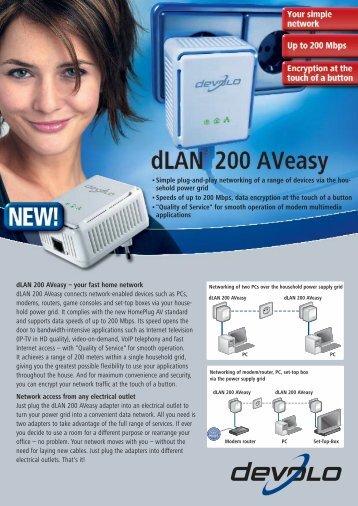 dLAN 200 AVeasy - Icecat
