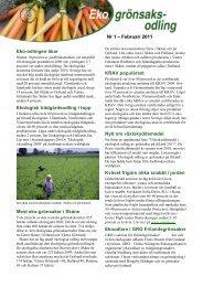 Ekologisk fruktodling - Jordbruksverket