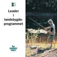 Leader i landsbygds- programmet - bild - Jordbruksverket