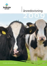 Årsredovisning 2009 - Jordbruksverket