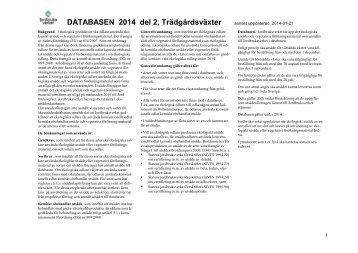 Databas 2014, del 2 - Jordbruksverket