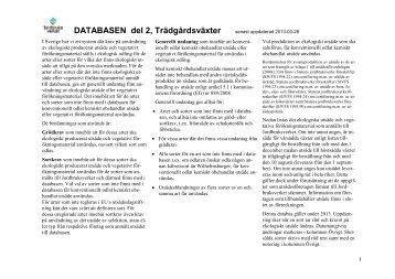 Databas 2013, del 2 - Jordbruksverket