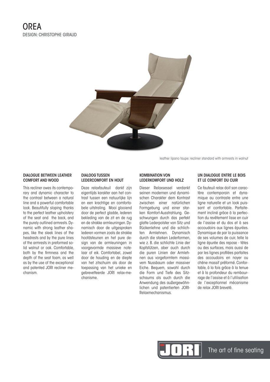 Design Fauteuil Jori.60 Free Magazines From Jori Com