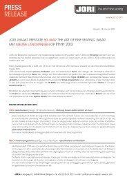 PERSBERICHT imm 2013.pdf - Jori