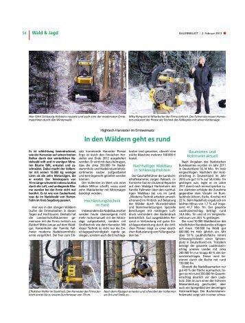 In den Wäldern geht es rund - Jorkisch GmbH & Co. KG