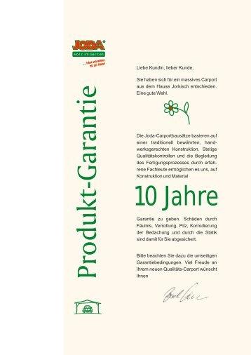 10 Jahre - Jorkisch GmbH & Co. KG