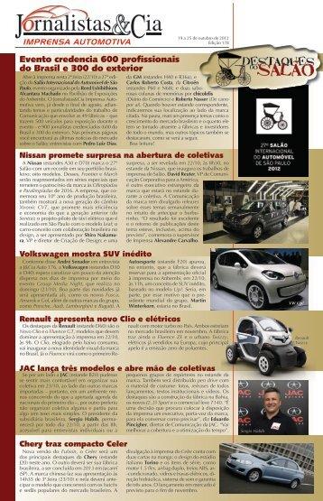 Edição 178 - Jornalistas & Cia