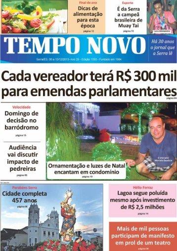 Versão em PDF - Jornal Tempo Novo
