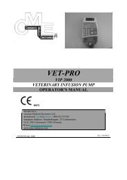 Infusion, VetPro Pump