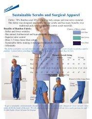 Scrubs and Surgical Apparel - Jorgensen Laboratories