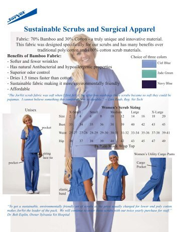 Scrubs and Surgical Apparel - Jorgensen Laboratories