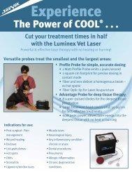Laser, Luminex Equine