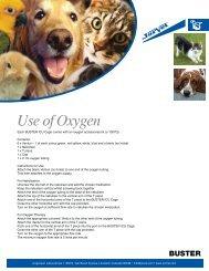 Use of Oxygen - Jorgensen Laboratories