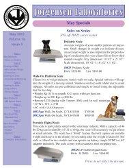 May Specials Coming in June Microscope Slide - Jorgensen ...