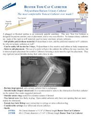 Buster Tom Cat Catheter - Jorgensen Laboratories