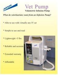 Infusion Pump - Jorgensen Laboratories