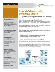 Ipswitch Whatsup Gold Distributed Edition - Databit