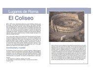 El Coliseo - Saint Josemaria Escriva