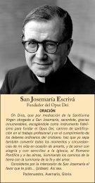 San Josemaría Escrivá - Saint Josemaria Escriva: Founder of Opus ...
