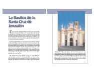 La Basílica de la Santa Cruz de Jerusalén - Saint Josemaria Escriva ...