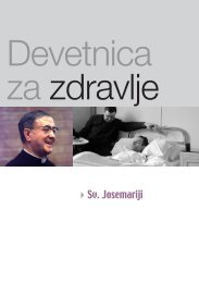Sv. Josemariji - Saint Josemaria Escriva: Founder of Opus Dei