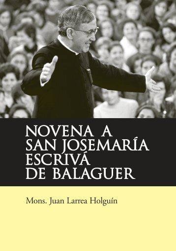 NOVENA copy_NOVENA copy - Saint Josemaria Escriva: Founder ...
