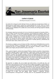 Lealtad a la Iglesia - Saint Josemaria Escriva
