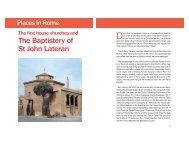 The Baptistery of St John Lateran - Saint Josemaria Escriva ...