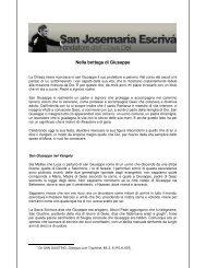 Nella bottega di Giuseppe - Saint Josemaria Escriva