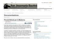 Piccole Edicole per la Madonna - Saint Josemaria Escriva: Founder ...