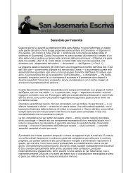 Sacerdote per l'eternità - Saint Josemaria Escriva