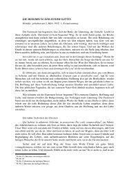 Die Bekehrung der Kinder Gottes - Saint Josemaria Escriva ...